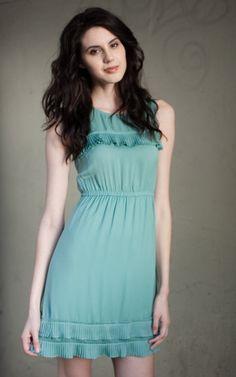 Tulle Vintage Inspired Mint Dress