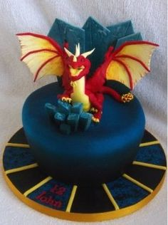 Pink Floyd Dark Side Of The Moon Cake Dragon cakes Dragons and Cake
