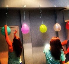 Lambda Iota Chapter (Vanderbilt University) came up with a fun way to reveal bump groups prior to recruitment. They put names in balloons for each bump group and had sisters pop the balloons to find out each group.