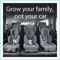 Narrow Car Seats Instead Of A Mini Van An SUV