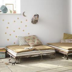 sofa bohème bohemian canapé enfant vintage désaccord