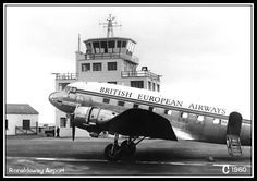 Ronaldsway Control Tower 1960