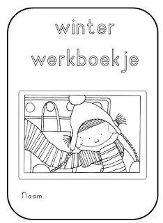Winterboekje, leuk als klaar-opdracht..