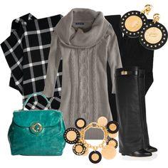 Vestidos de Punto, created by outfits-de-moda2 on Polyvore