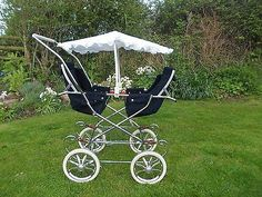 fully usable vintage twin pushchair / pram | eBay