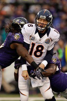 Peyton Manning meets the Ravens defense.