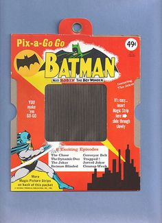 Batman 1966 Vintage PIX A Go Go Featuring The Dynamic Duo vs The Joker | eBay