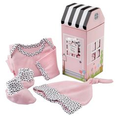 Baby Aspen Welcome Home Baby 3-Piece Layette Gift Set, Pink, 0-6 Months -- Learn more by visiting the image link.
