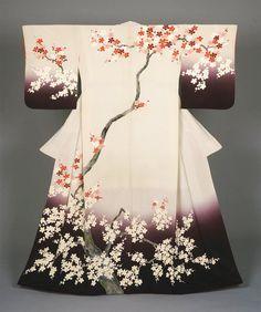 桜の着物。