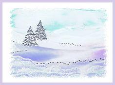 Sneeuwlandschap geschilderd met bijenwas door Beika Kruid Tapestry, Home Decor, Shop Signs, Hanging Tapestry, Tapestries, Decoration Home, Room Decor, Home Interior Design, Needlepoint