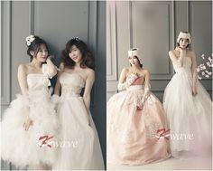 Davichi transform into lovely brides for K-Wave ~ Latest K-pop News - K-pop News   Daily K Pop News