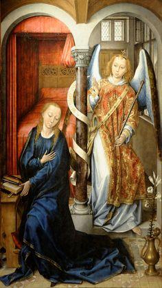 Vrancke van der Stockt (1420 - 1495) - The Annunciation.