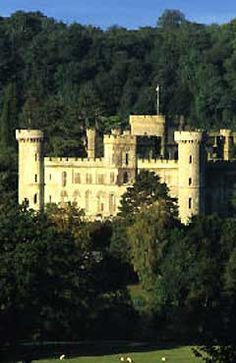 Eastnor Castle - a dramatic-looking fortress situated in a humble 5000-acre estate in the Malvern Hills