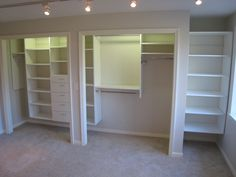 Reach-in Closet Organization - When the leaves start to turn and the weather turns colder, it's time to switch out those seasonal clothes in your closets. Don't have space? Give us a call. We can help! Learn more at www.closetsforlife.com.