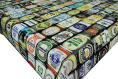 Awesome tablecloth #bardecor @LiquorListcom www.LiquorList.com #LiquorList