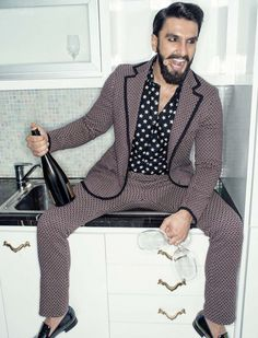Ranveer Singh #FilmFare #FASHION #STYLE #SEXY #BOLLYWOOD #INDIA #RanveerSingh