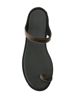 Shop Haider Ackermann slip-on open-toe sandals. Open Toe Sandals, Flip Flop Sandals, Shoes Sandals, Women Sandals, Designer Sandals, Pretty Shoes, Haider Ackermann, Leather Sandals, Footwear