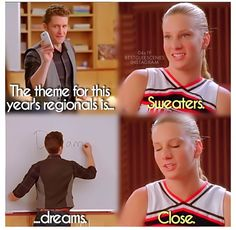 Sweaters and dreams are the same thing.