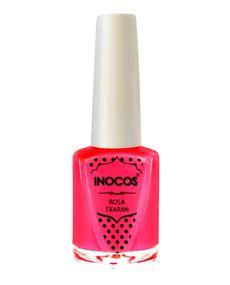 Verniz de Luxo - Verniz Inocos A Pipoca Mais Doce Inhos Pastel e Txarans Fluorescentes - Rosa Txaran 9ml