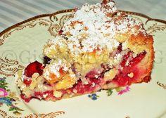 Mini Cherry Streusel Cake - original authentic German recipe.