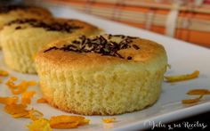 magdalenas, magdalenas de naranja y queso. recetas de magdalenas de naranja, Julia y sus recetas