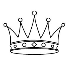 Top 30 Free Printable Crown Coloring Pages Online Cinderella