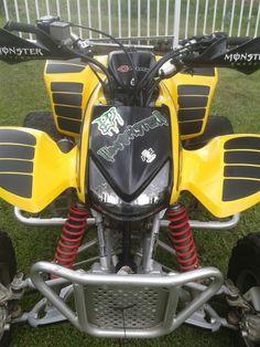 Honda 2005 400 TRX EX - Bumble Bee