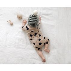 New baby fashion style polka dots Ideas Little Fashion, Boy Fashion, Babies Fashion, Little People, Little Ones, Little Babies, Cute Babies, Bebe Love, Baby Kind
