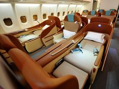 Travel with Singapore Airlines: First Class