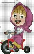 Masha fuse bead
