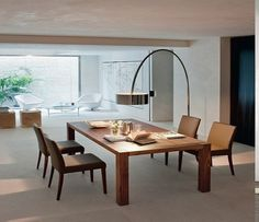 Room Decorating with Contemporary Arc Floor Lamps | Arc floor ...