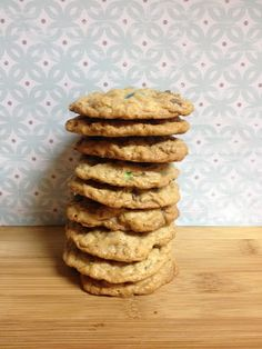 In Pursuit of Lovely: Monster Cookie Recipe  #cookiemonster #sweettooth