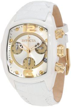 #Invicta #Watch , Invicta Women's 0311 Lupah Revolution Chronograph White Watch