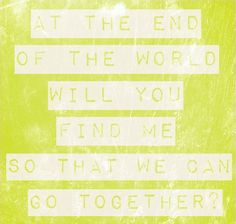 """Ingrid Michaelson """"End of the World"""""""