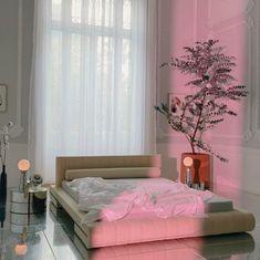 Room Ideas Bedroom, Decor Room, Room Decorations, Bedroom Designs, Bedroom Decor, Home Decor, All White Room, White Rooms, Dream Home Design