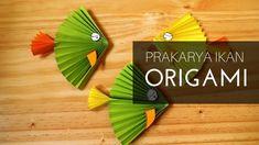 Cara membuat prakarya origami ikan dari kertas untuk anak