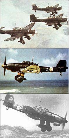 GERMAN JU 87 STUKA DIVE BOMBER