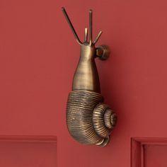 Brass Snail Door Knocker | Signature Hardware