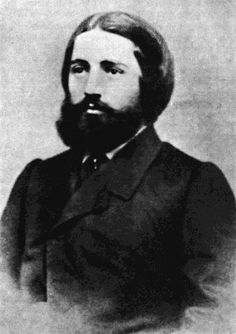 Ilia Chavchavadze during his studies at the university in Saint Petersburg, 1860