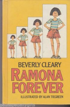 Ramona Forever by Beverly Cleary (1984, Hardcover)