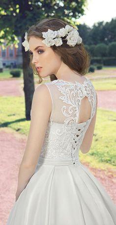 Milva 2016 Wedding Dresses Fairy Garden Collection / http://www.deerpearlflowers.com/milva-wedding-dresses/15/
