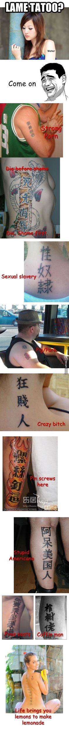 Tattoo Fails // funny pictures - funny photos - funny images - funny pics - funny quotes - #lol #humor #funnypictures