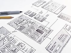 Wireframe Sketches. If you're a user experience professional, listen to The UX Blog Podcast on iTunes.