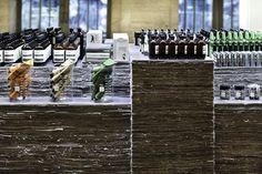 Australian skincare brand Aesop have launched in New York with a kiosk at Grand Central that's made from over 1000 copies of the New York Times.