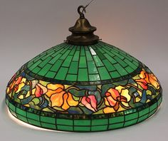 A Reference source for Antique stained glass leaded lamps. Original examples of the best lamps from the best lamp makers including Tiffany Studios, Duffner & Kimberly, Handel, Suess, Chicago Mosaic and many more. Tiffany Lamp Shade, Tiffany Chandelier, Tiffany Lamps, Glass Chandelier, Chandeliers, Stained Glass Lamp Shades, Stained Glass Rose, Tiffany Stained Glass, Stained Glass Windows