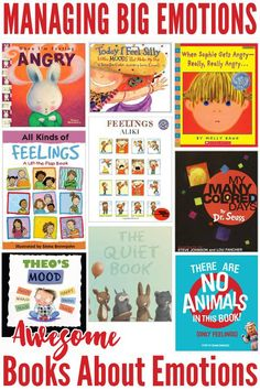 16 Awesome Kids Books Exploring Feelings and Emotions Awesome Books About Emotions: Picture Books to Explore Emotions with Young Children Best Children Books, Childrens Books, Young Children, Helping Children, Toddler Books, Child Teaching, Teaching Reading, Teaching Ideas, Preschool Books