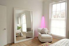 Harriet Anstruther Pink Neon Light/Remodelista