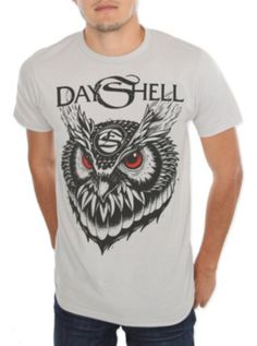 Dayshell Owl Slim-Fit T-Shirt