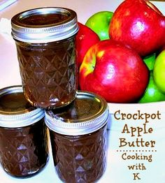 Cooking with K: Crockpot Apple Butter
