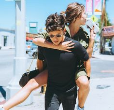 Teen Beach star Maia Mitchell is proving to the world that her relationship with boyfriend Rudy Mancuso is more solid than ever. The couple was rumored to have broken up last March, but nothing was… Best Boyfriend, Boyfriend Goals, Boyfriend Girlfriend Pictures, Cute Relationship Goals, Cute Relationships, Couple Relationship, Marriage Goals, Bff, Boy Bestfriend Goals